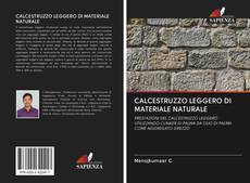 Copertina di CALCESTRUZZO LEGGERO DI MATERIALE NATURALE
