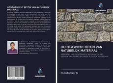 Обложка LICHTGEWICHT BETON VAN NATUURLIJK MATERIAAL