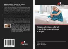 Responsabilità genitoriali dopo il divorzio nei paesi europei kitap kapağı