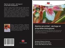 Couverture de Alpinia zerumbet : séchage et propriétés biologiques