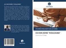 "Capa do livro de ICH BIN KEINE ""KOULOUNA"""