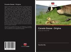 Bookcover of Canada Goose : Origine
