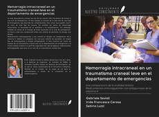 Обложка Hemorragia intracraneal en un traumatismo craneal leve en el departamento de emergencias