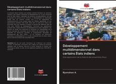 Bookcover of Développement multidimensionnel dans certains États indiens