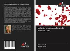 Portada del libro de Indagini ematologiche nelle malattie orali
