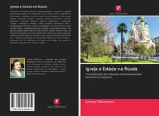 Capa do livro de Igreja e Estado na Rússia