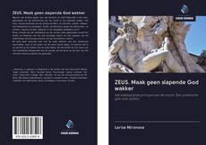 Buchcover von ZEUS. Maak geen slapende God wakker