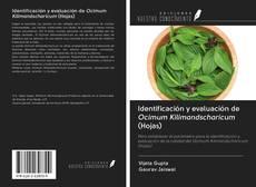 Couverture de Identificación y evaluación de Ocimum Kilimandscharicum (Hojas)