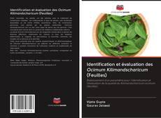 Couverture de Identification et évaluation des Ocimum Kilimandscharicum (Feuilles)
