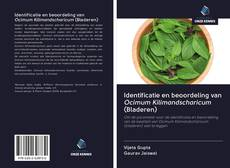 Couverture de Identificatie en beoordeling van Ocimum Kilimandscharicum (Bladeren)