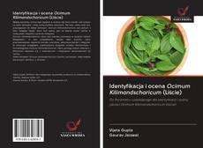 Обложка Identyfikacja i ocena Ocimum Kilimandscharicum (Liście)