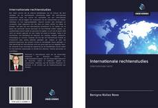 Couverture de Internationale rechtenstudies