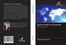 Portada del libro de Studi di diritto internazionale