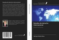 Bookcover of Estudios de derecho internacional