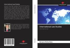 Bookcover of International Law Studies