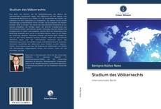 Copertina di Studium des Völkerrechts