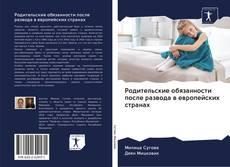 Buchcover von Родительские обязанности после развода в европейских странах