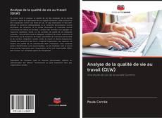 Capa do livro de Analyse de la qualité de vie au travail (QLW)