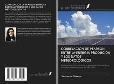 Portada del libro de CORRELACIÓN DE PEARSON ENTRE LA ENERGÍA PRODUCIDA Y LOS DATOS METEOROLÓGICOS