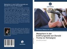 Buchcover von Metaphern in der Eröffnungsrede von Donald Trump zur Kampagne