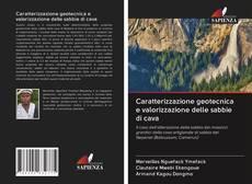 Обложка Caratterizzazione geotecnica e valorizzazione delle sabbie di cava