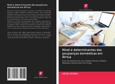 Capa do livro de Nível e determinantes das poupanças domésticas em África