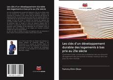 Capa do livro de Les clés d'un développement durable des logements à bas prix au 21e siècle