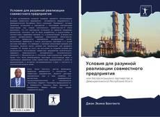 Bookcover of Условия для разумной реализации совместного предприятия