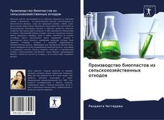 Bookcover of Производство биопластов из сельскохозяйственных отходов