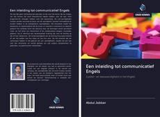 Couverture de Een inleiding tot communicatief Engels