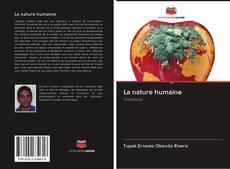 Borítókép a  La nature humaine - hoz