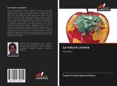 Bookcover of La natura umana