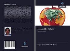 Bookcover of Menselijke natuur