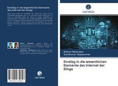 Portada del libro de Einstieg in die wesentlichen Elemente des Internet der Dinge