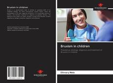 Bookcover of Bruxism in children