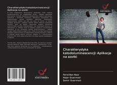 Bookcover of Charakterystyka katodoluminescencji: Aplikacje na azotki