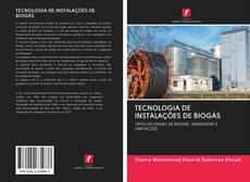 TECNOLOGIA DE INSTALAÇÕES DE BIOGÁS kitap kapağı
