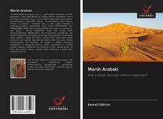 Bookcover of Marsh Arabski
