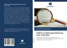 Copertina di CAATs zur Betrugsaufdeckung und -kontrolle
