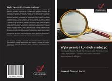 Bookcover of Wykrywanie i kontrola nadużyć