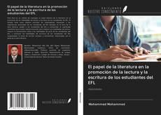 Capa do livro de El papel de la literatura en la promoción de la lectura y la escritura de los estudiantes del EFL