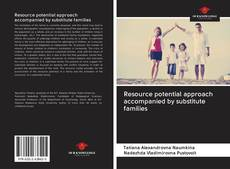 Bookcover of Resource potential approach accompanied by substitute families