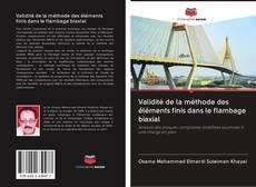 Bookcover of Validité de la méthode des éléments finis dans le flambage biaxial