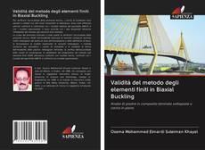Capa do livro de Validità del metodo degli elementi finiti in Biaxial Buckling