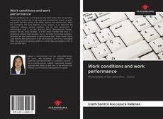 Buchcover von Work conditions and work performance