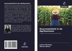 Bookcover of Duurzaamheid in de Agribusiness