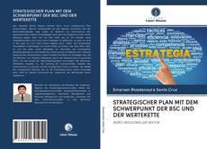 Bookcover of STRATEGISCHER PLAN MIT DEM SCHWERPUNKT DER BSC UND DER WERTEKETTE