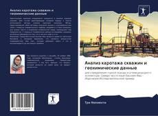 Portada del libro de Анализ каротажа скважин и геохимические данные
