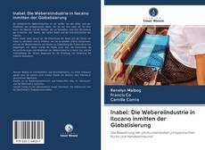 Capa do livro de Inabel: Die Webereiindustrie in Ilocano inmitten der Globalisierung