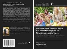 Copertina di Las estrategias de copia de los adolescentes mayores de familias monoparentales.
